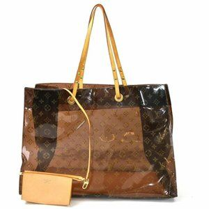 Louis Vuitton Cabas Cruise GM With Pouch Clear
